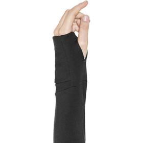 Icebreaker Quantum Chaqueta con capucha manga larga y cremallera Mujer, black